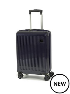 rock-luggage-windsor-carry-on-8-wheel-suitcase-navy