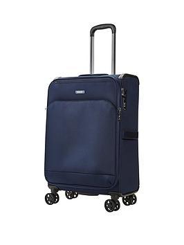 rock-luggage-georgia-medium-8-wheel-suitcase-navy