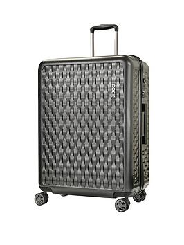 rock-luggage-allure-large-8-wheel-suitcase-charcoal