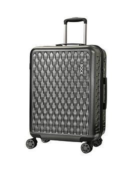rock-luggage-allure-medium-8-wheel-suitcase-charcoal