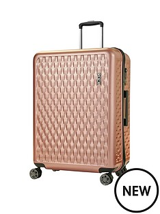 rock-luggage-allure-large-8-wheel-suitcase-rose-pink