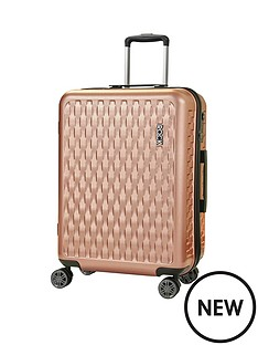 rock-luggage-allure-medium-8-wheel-suitcase-rose-pink