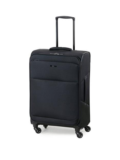 rock-luggage-ever-lite-medium-4-wheel-suitcase-black