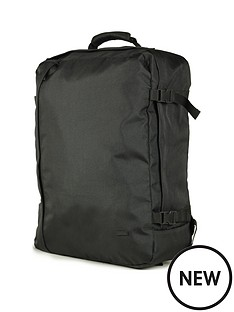 rock-luggage-large-cabin-backpack-black