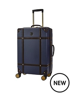 rock-luggage-vintage-medium-8-wheel-suitcase-navy