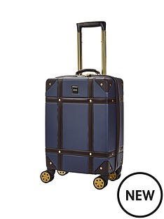 rock-luggage-vintage-carry-on-8-wheel-suitcase-navy