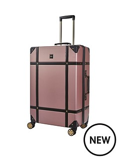 rock-luggage-vintage-large-8-wheel-suitcase-rose-pink