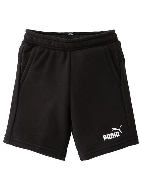 puma-boys-essential-sweat-shorts-black