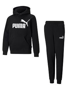 puma-boys-essentialnbspbig-logo-hoodienbspset-blacknbsp