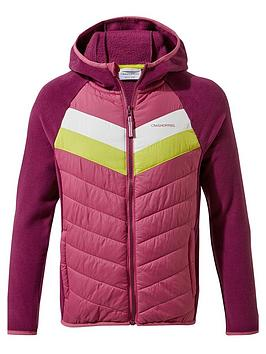 craghoppers-girls-jenson-hybrid-jacket-purple