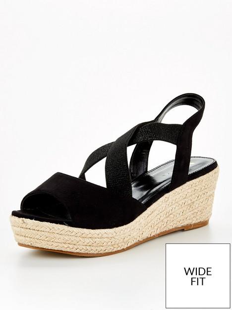 v-by-very-wide-fitnbspstud-elastic-strap-wedge-black
