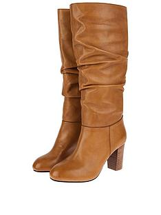 monsoon-slouch-leather-long-boots-tan