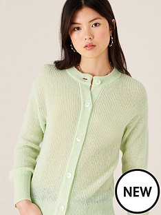 monsoon-button-through-short-cardigan-mint