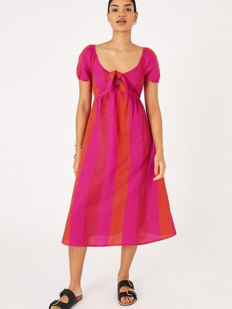 accessorize-colour-block-beach-dress-multi