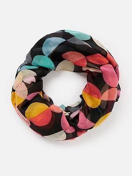 accessorize-retro-spot-print-scarf-multi