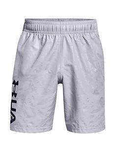 under-armour-woven-emboss-shorts-greyblack