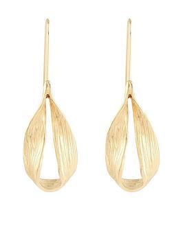 monsoon-simple-drop-earring-gold