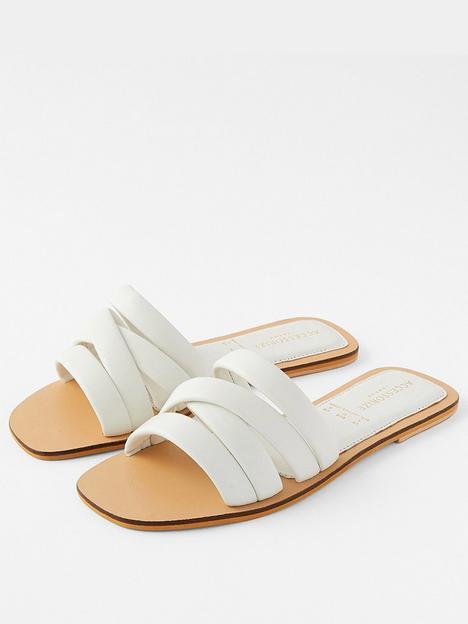 accessorize-sophie-strappy-slider-white