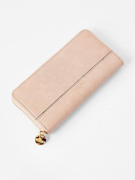 accessorize-large-zip-around-wallet-pink