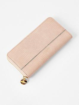 accessorize-large-zip-around-wallet-pink