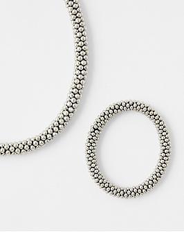accessorize-the-bobble-necklace-and-bracelet-set-silver