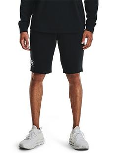 under-armour-rival-terry-shortsnbsp--black