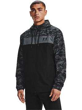 under-armour-trainingnbspsportstyle-camo-windbreaker-black