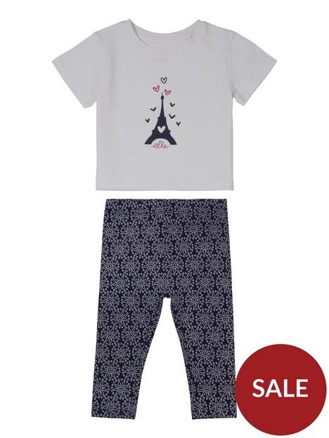 elle-baby-girl-frill-t-shirt-and-legging-set-whitenavy