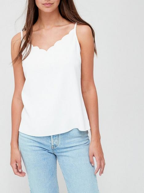 ted-baker-siina-scallop-neckline-cami-top-ivory