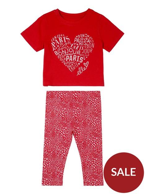 elle-baby-girl-frill-t-shirtnbspand-legging-set-red
