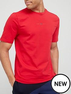 tommy-sport-sport-stripe-logo-t-shirt-red