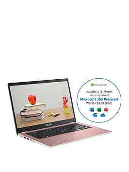 asus-cloudbook-e410ma-eb012ts-intel-celeron-n4020-4gb-ram-64gb-emmc-14-fhd-laptop-with-optional-norton-360-1-year-pink