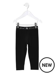 river-island-mini-mini-girls-new-waistband-legging-black