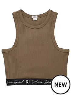 river-island-racer-crop-top-khaki