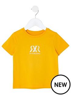 river-island-mini-mini-boys-rvrnbspshort-sleeve-t-shirtnbsp-nbspyellow