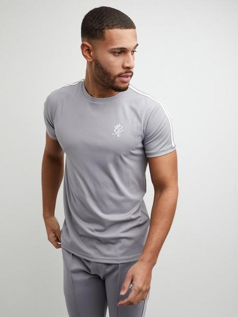 gym-king-taped-poly-t-shirt-grey