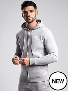 gym-king-basis-zip-thru-hoodie-grey-marl