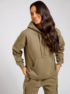 chelsea-peers-hooded-lounge-top-khaki