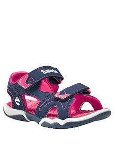 timberland-girlsnbspadventure-seeker-2-strap-sandals-navypink