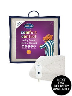 silentnight-fleece-comfort-control-electric-blanket