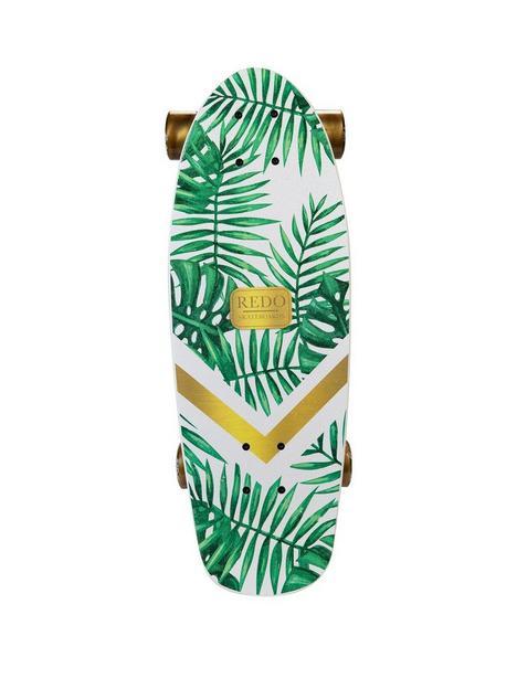 redo-skateboard-co-shorty-green-palm-cruiser-skateboard