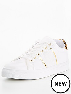 v-by-very-alpha-side-stripe-trainer-white-gold