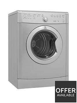 indesit-idvl75brs-7kg-load-vented-tumble-dryer-silver
