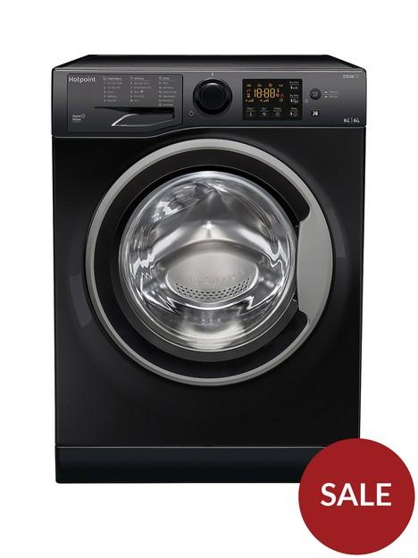 hotpoint-rdg9643ksukn-9kg-wash-6kg-dry-1400-spin-washer-dryer-black