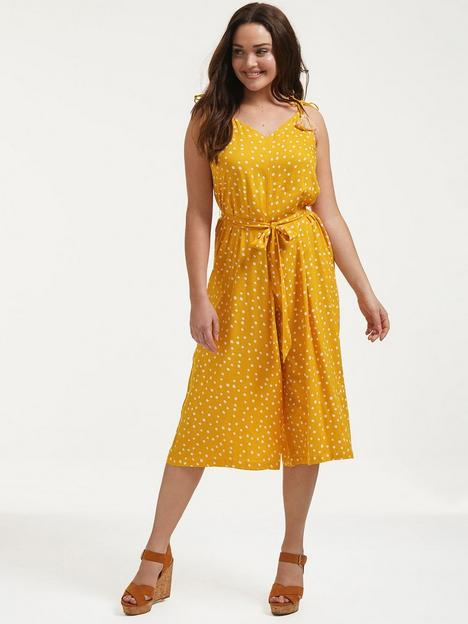figleaves-strappy-culottes-polka-dot-jumpsuit-ochre