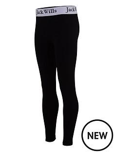 jack-wills-gilrs-tape-waist-legging-black