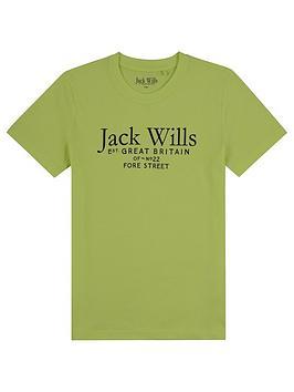 jack-wills-boys-script-t-shirt-lime