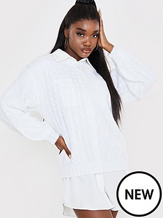 in-the-style-in-the-style-x-naomi-genes-spliced-cable-knit-boxy-high-necknbspjumper-white