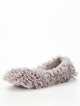 v-by-very-vine-faux-fur-ballerina-slipper-natural