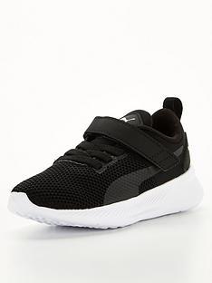 puma-flyer-runner-childrens-trainers-blackwhite